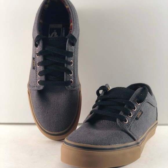 vans chukka low dark grey